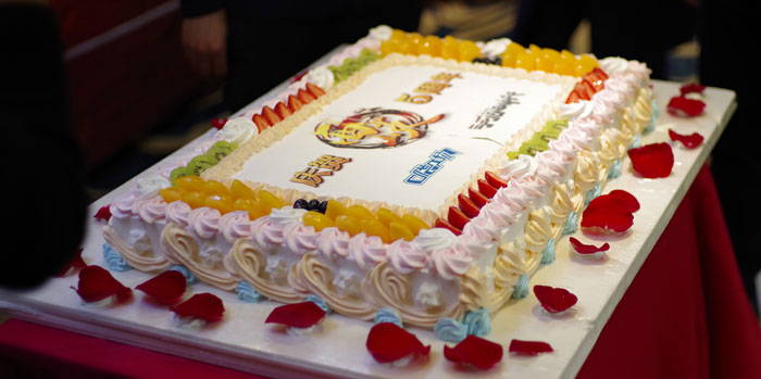 五周年庆蛋糕
